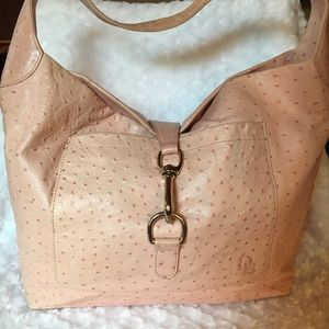 Dooney & Bourke Ostrich Leather Large